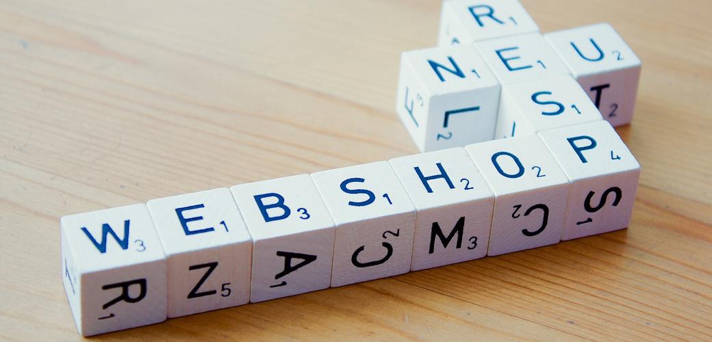 WordPress web shop